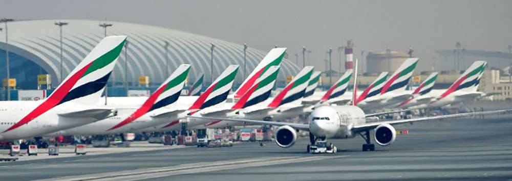 Dubai International Airport floods
