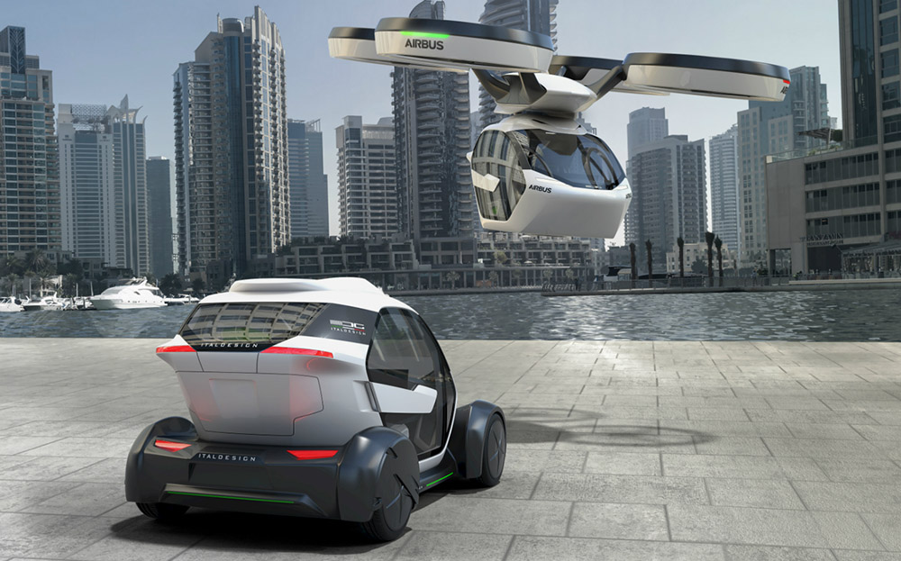 Audi Airbus flying car