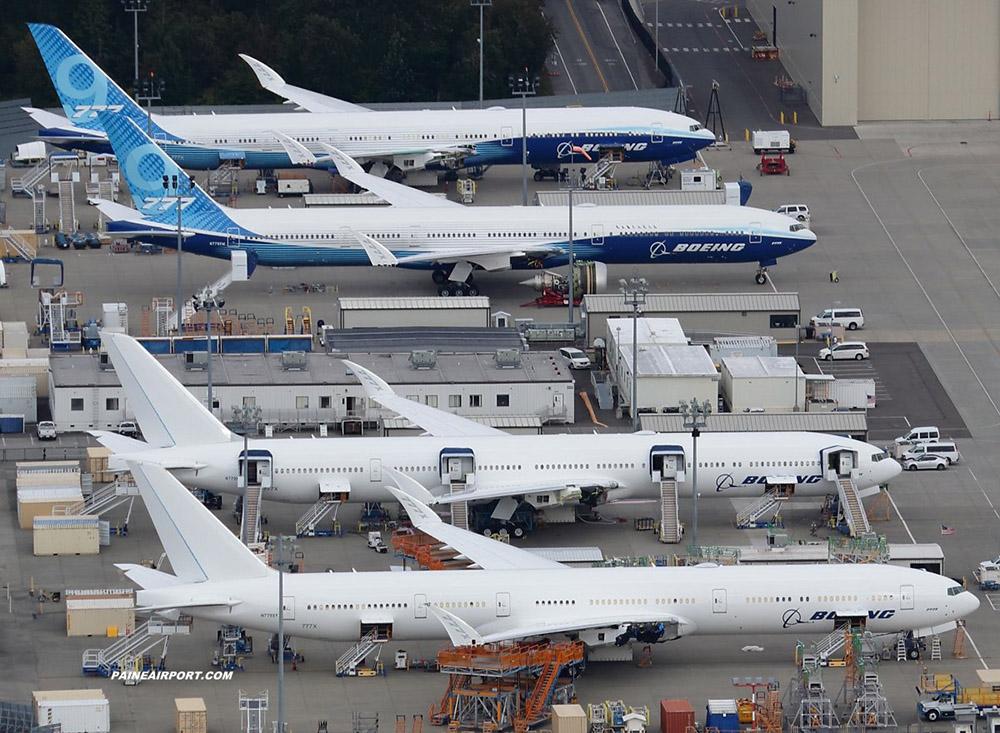 Boeing 777X exploding doors