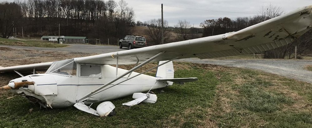 Pilot vanishes after crashing airplane in York County