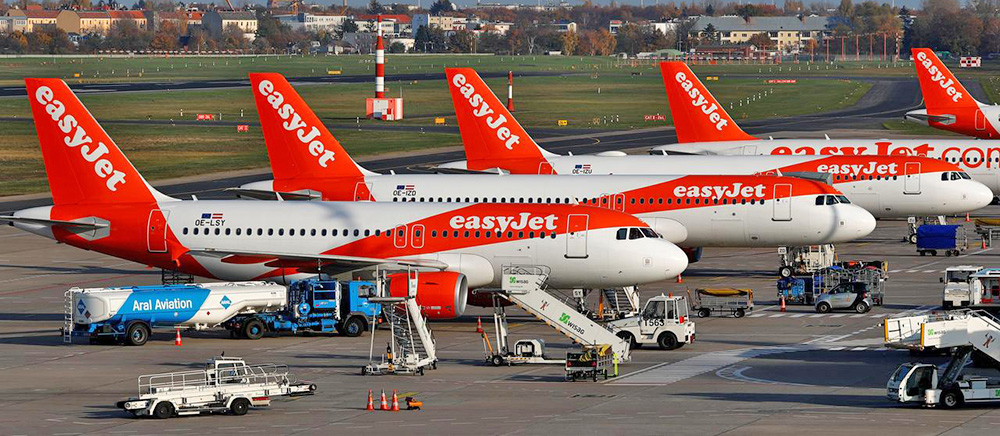 easyJet Airbus A320neo aircraft