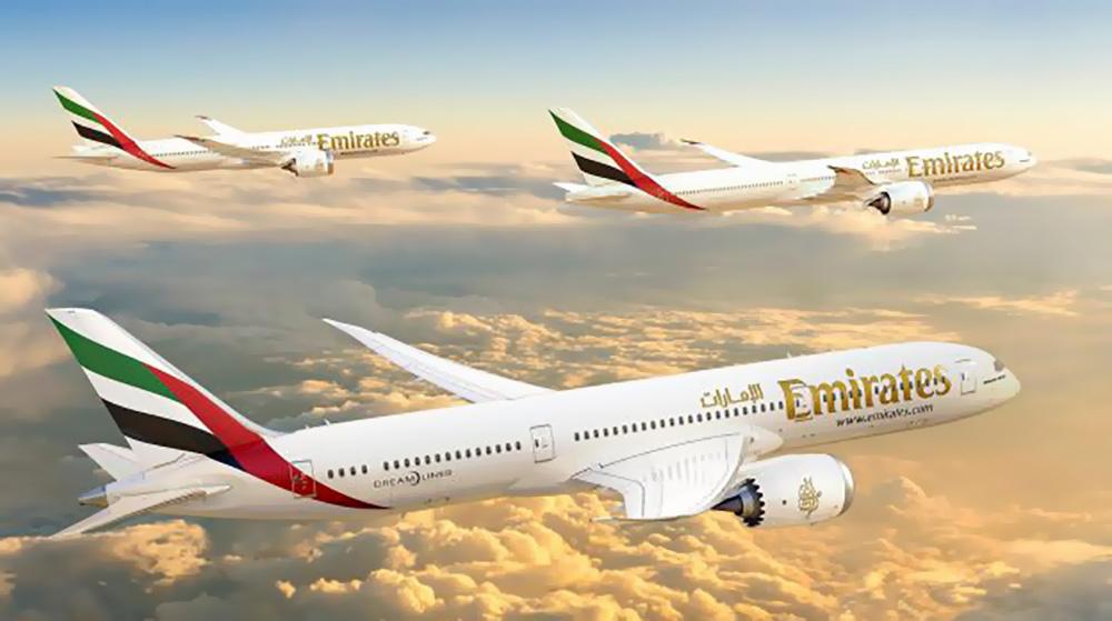 Emirates Boeing 787