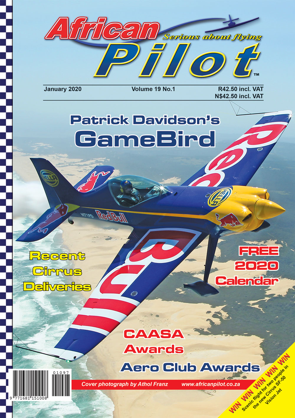 African Pilot January 2020 cover