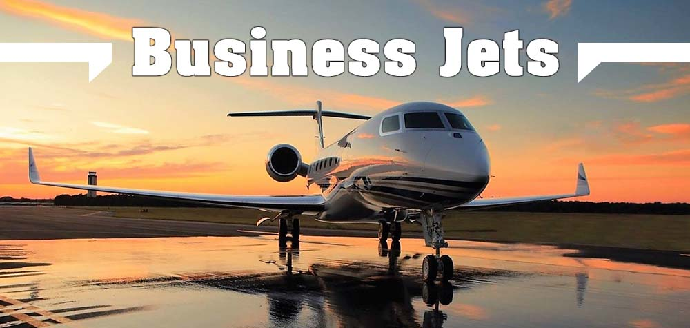 Business Jets for the March edition
