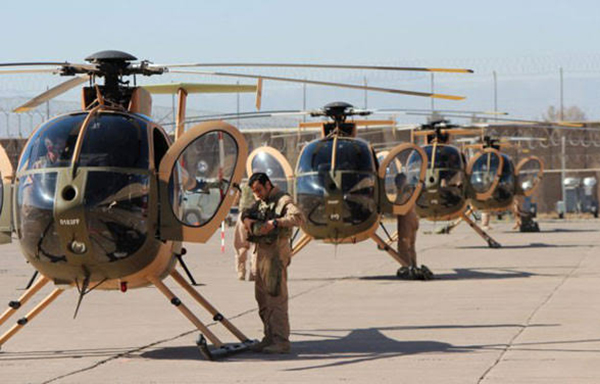 Six new MD 530F helicopters