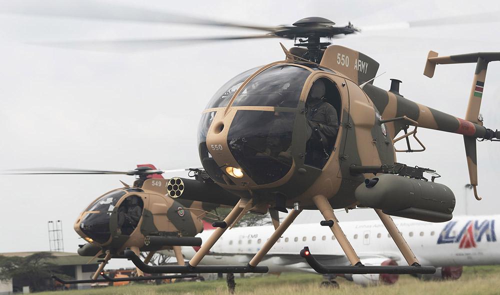 Kenyan MD-530F Cayuse Warrior