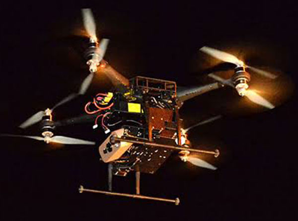 Drones used for surveillance in South Africa