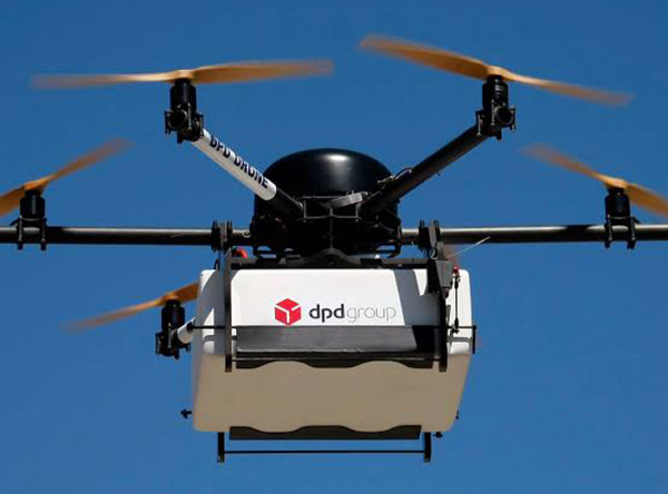 Online shoppers drone delivery