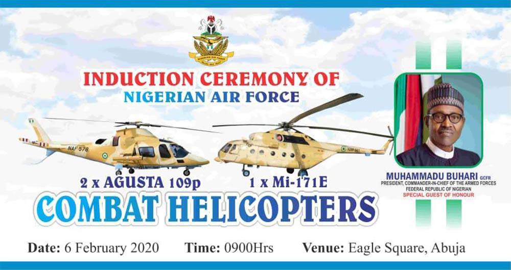 NAF adds AW109 and Mi-171 helicopters