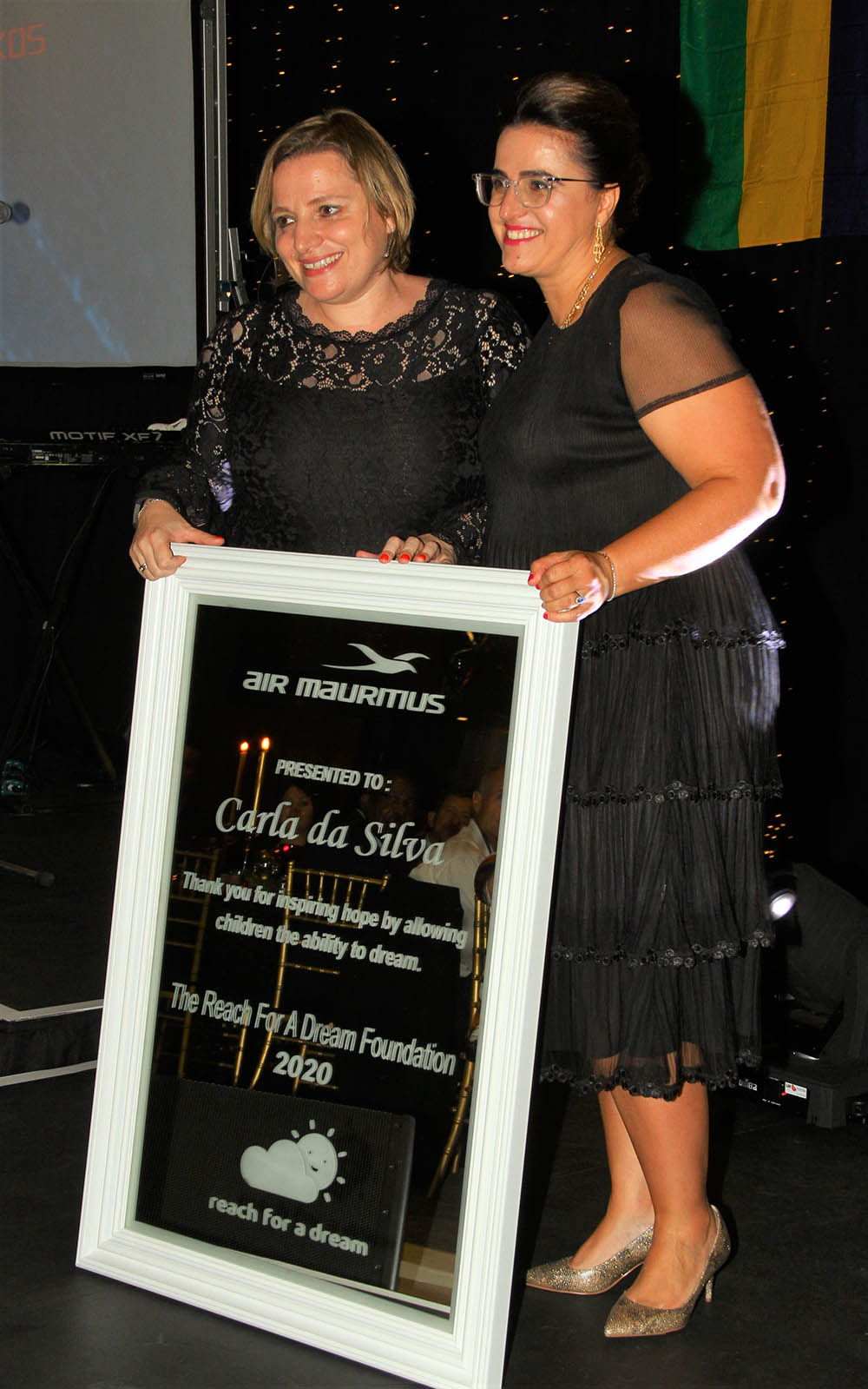 Award to Carla da Silva Reach for a Dream Foundation