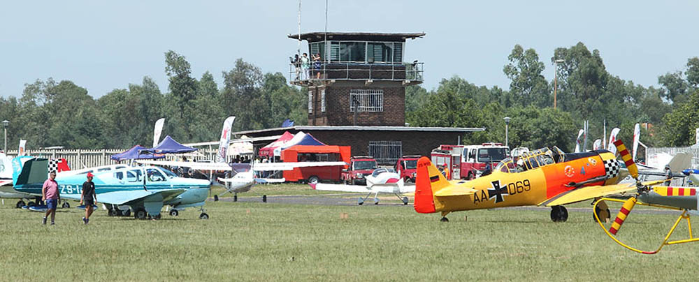 Witbank airfield on Saturday