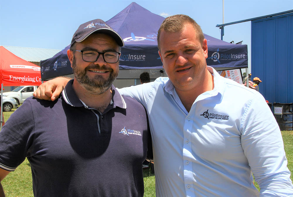 PilotInsure sponsors - David Le Roux and Franz Smit