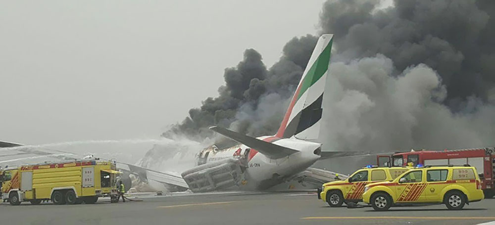 Final 2016 Emirates 777 crash-landing report