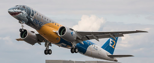 Embraer jet deliveries in 2019