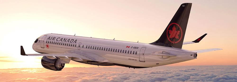 Air Canada's first A220-300
