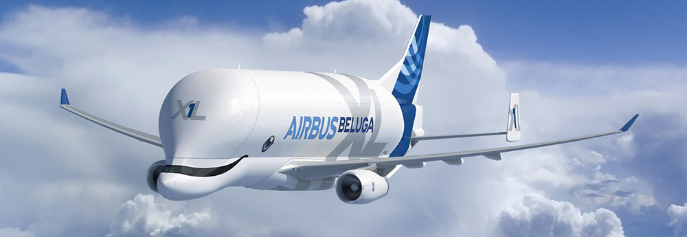 Airbus super-transporter BelugaXL