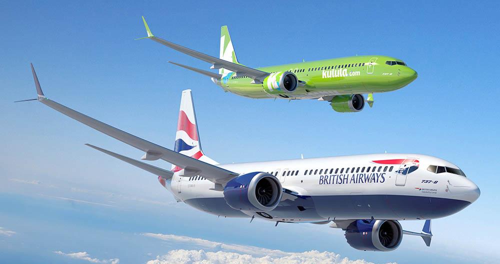 Comair Boeing 737s British Airways and Kulula