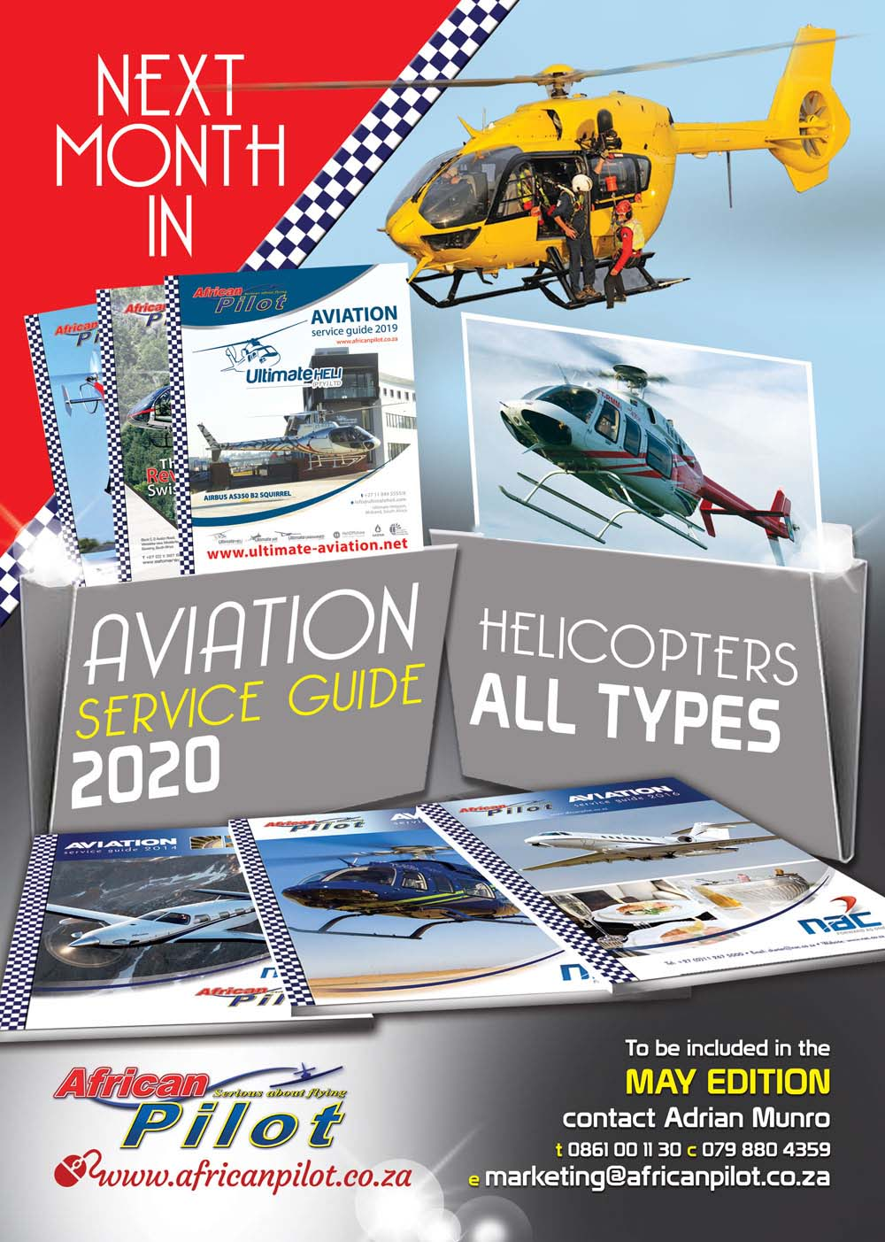 May edition features