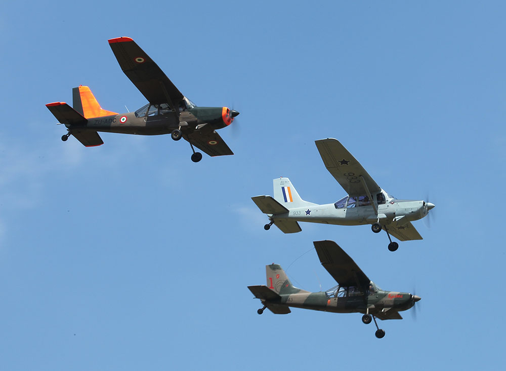 Three ex-SAAF Bosbok aircraft