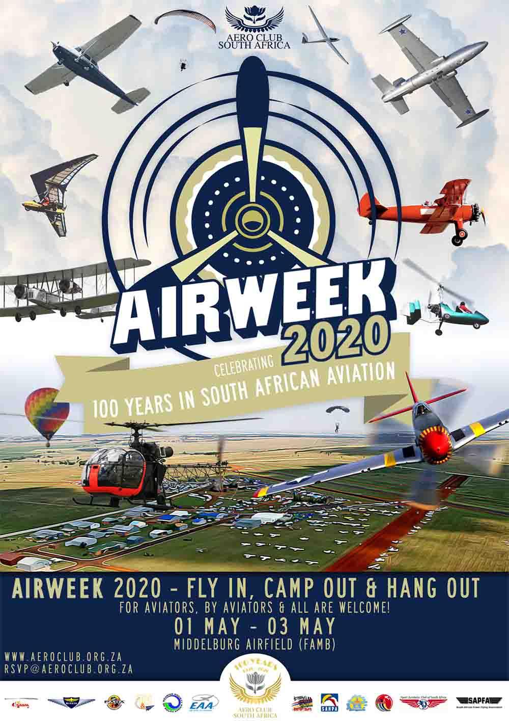 AeCSA Air Week poster