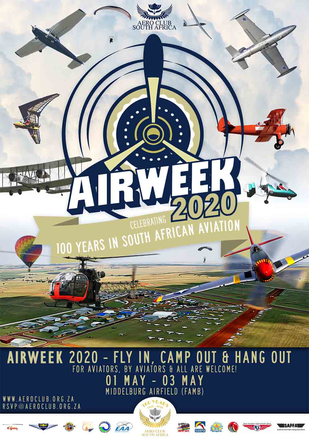 AeCSA Air Week poster