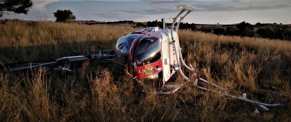 Bell helicopter accident