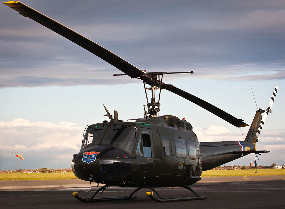 Bell Huey helicopter