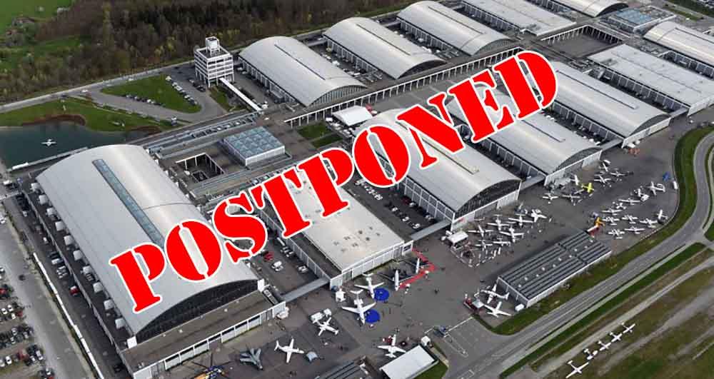 Aero Friedrichshafen postponed