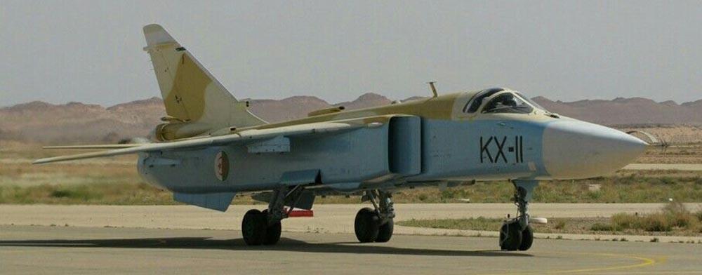 Algerian Air Force Su-24 Fencer