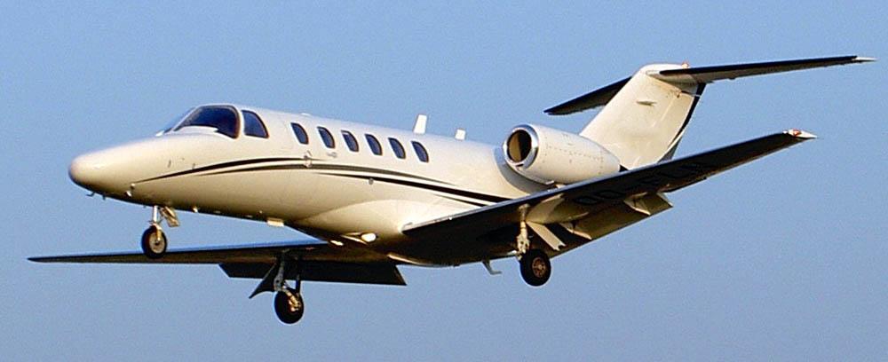 Cessna Citation M2 not the accident aircraft