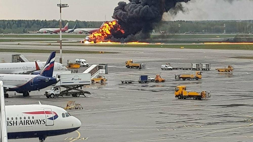 Russian Aeroflot Flight SU1492 crash