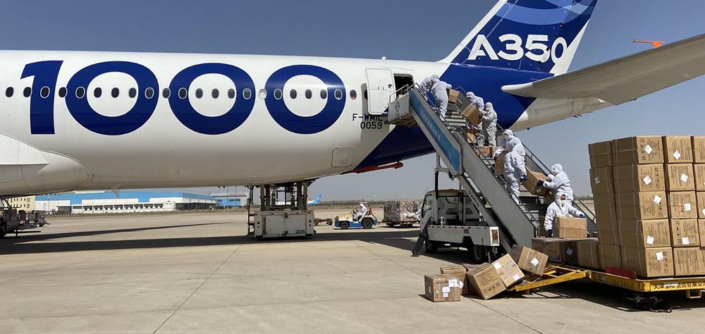 Airbus A350-1000 deployed