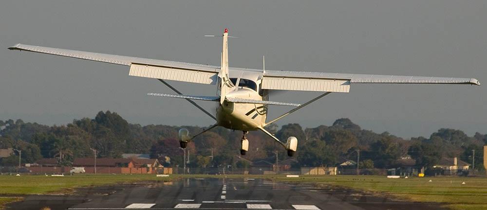 Cessna 172F Skyhawk not the accident aircraft
