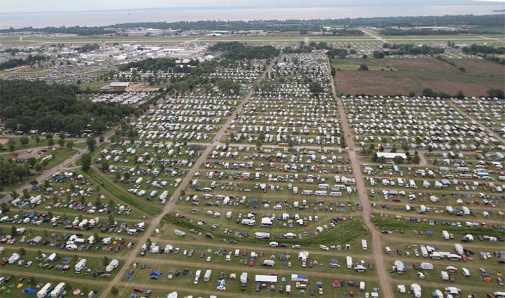 Camp Scholler aerial view
