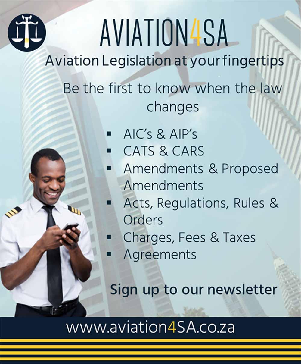 Aviation 4 SA online banner