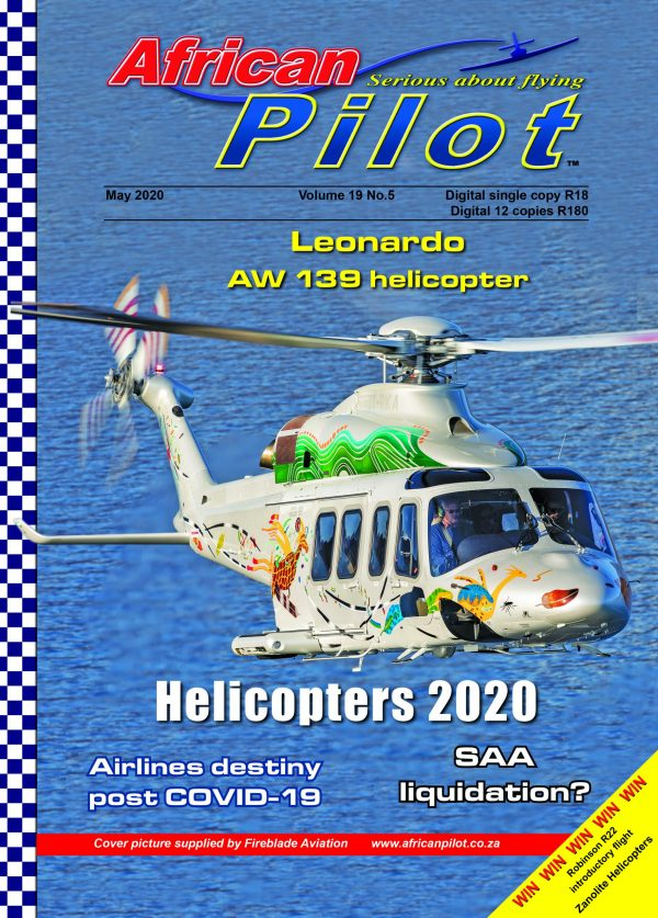 African Pilot May 2020 cover