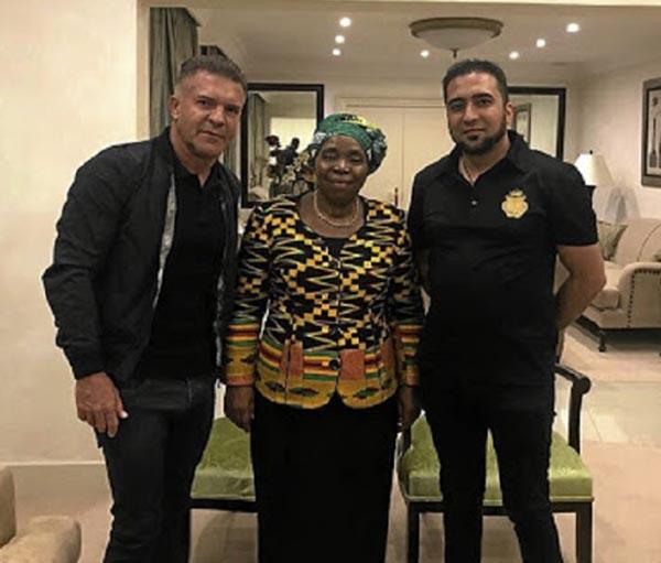Dlamini Zuma and Mazzotti