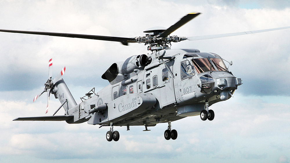 Canadian CH-148 Cyclone helicopter