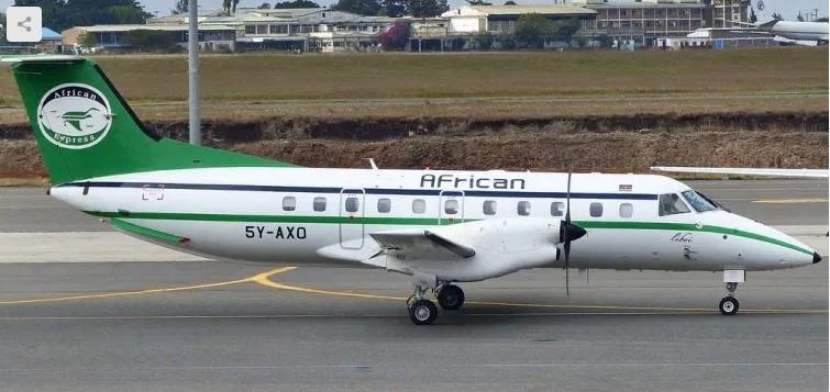 Embraer 120 shot down