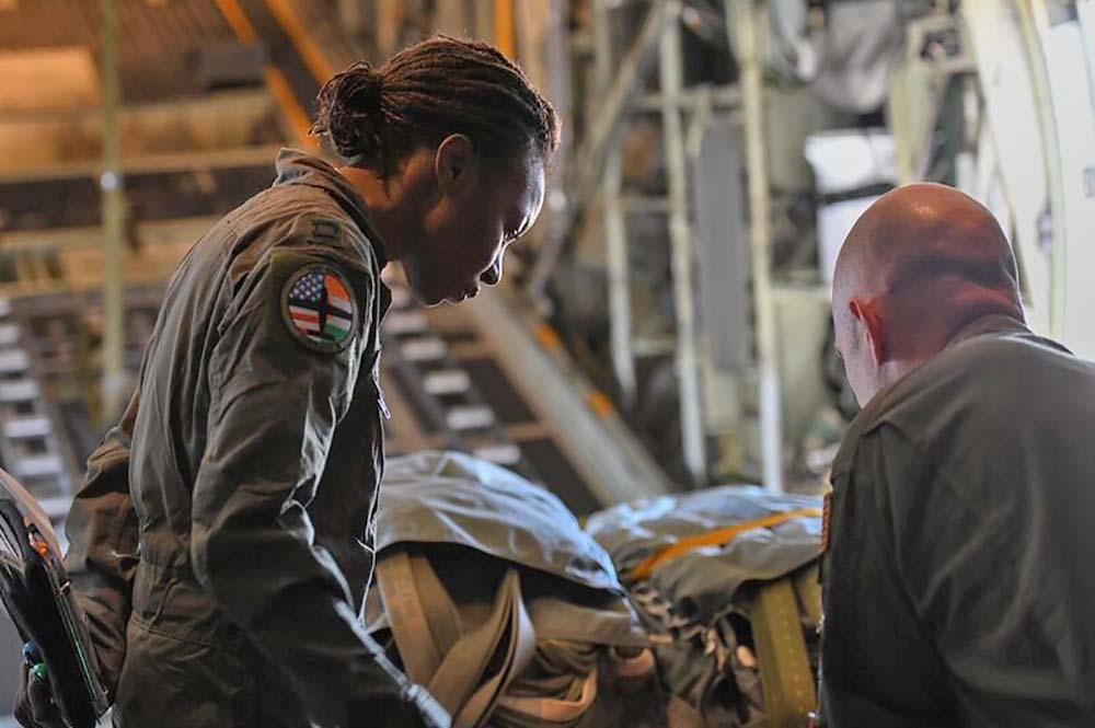 NAFs first female pilot