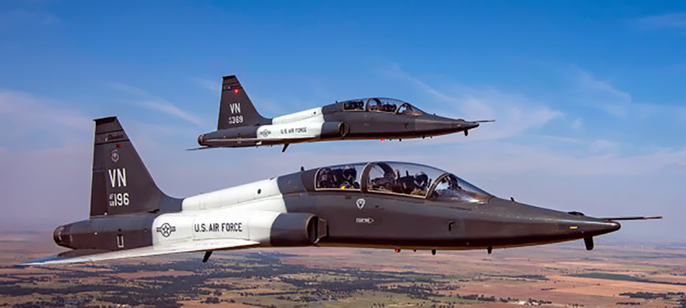 T-38s in formation