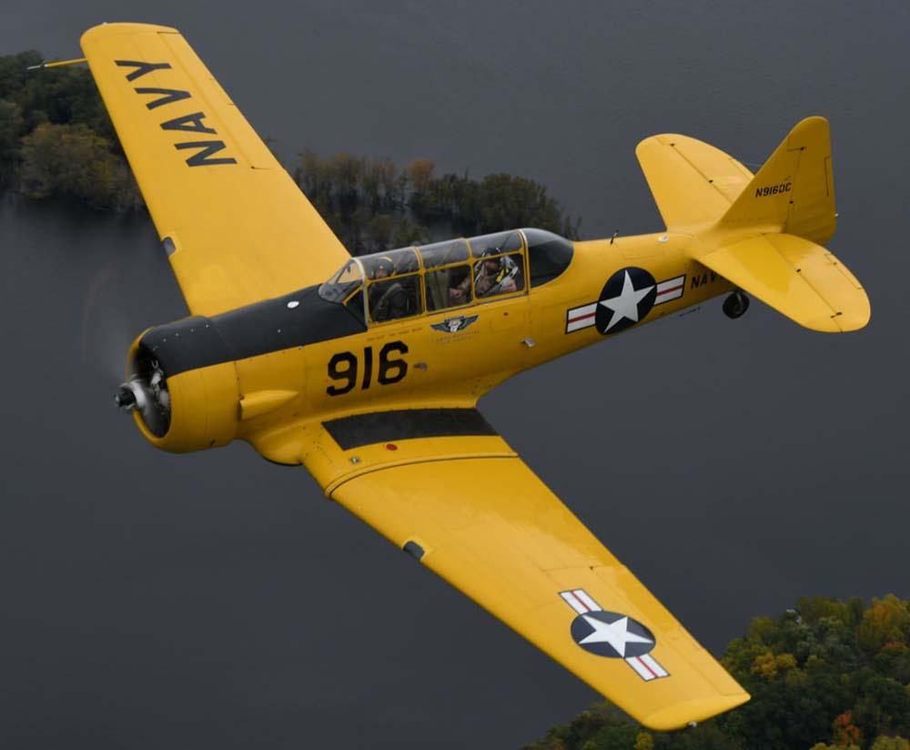 North American SNJ Aircraft -T6 Harvard
