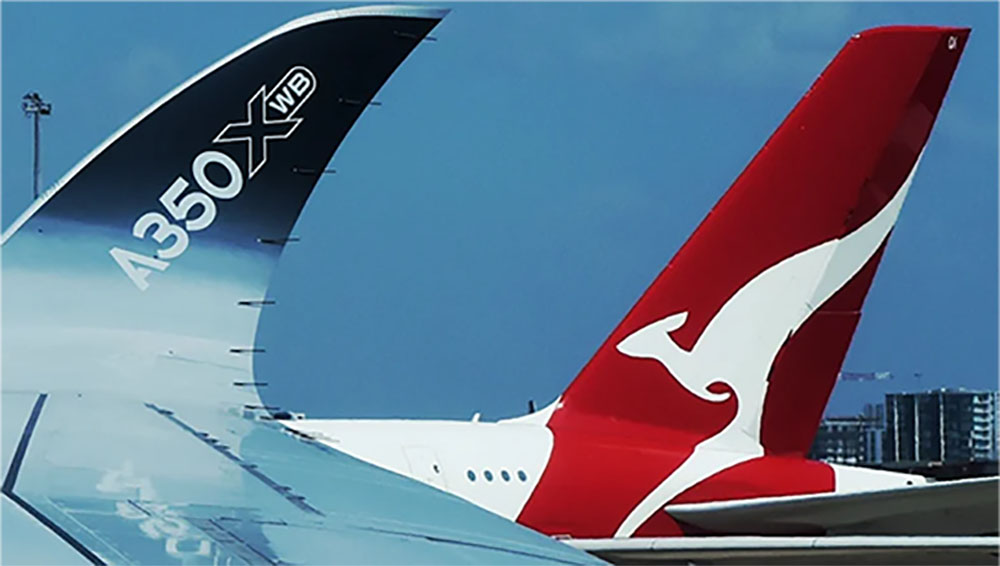 Qantas A350