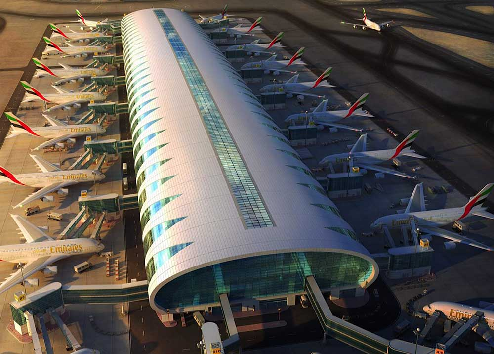 Emirates Airlines A380Jets Dubai Airport