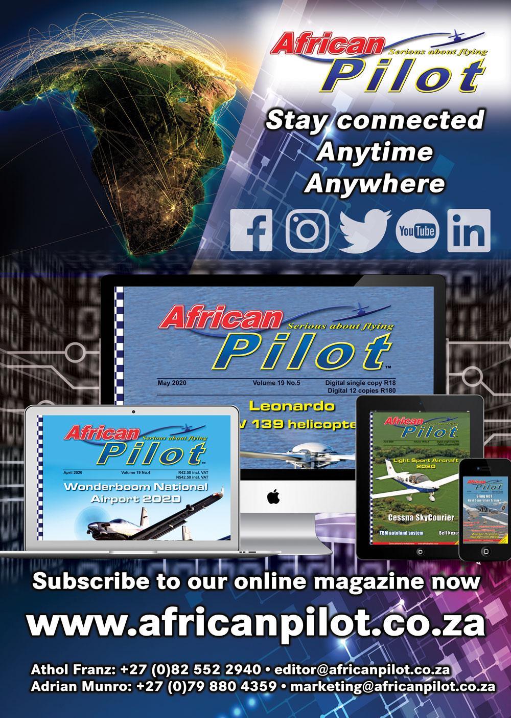 African Pilot digital AF