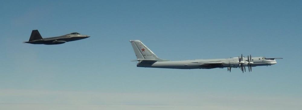 NORAD Jets intercept Russian bombers