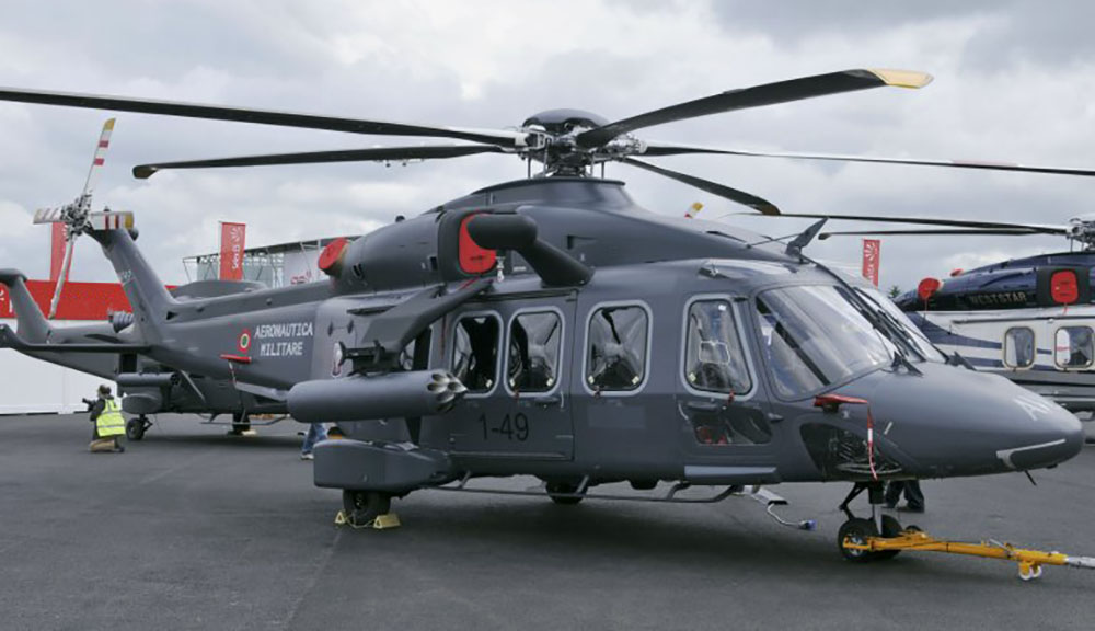 AW149 helicopter