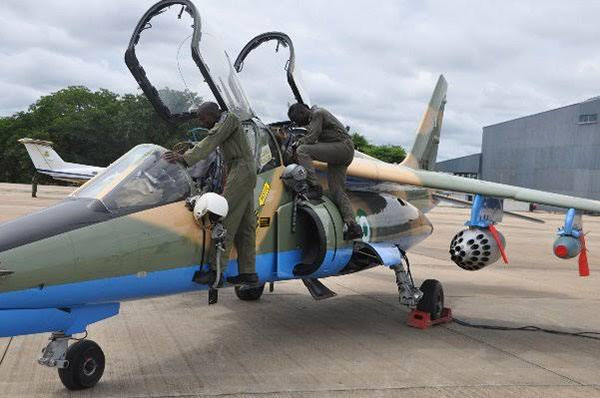 Nigerian Air Force continues the fight against insurgents