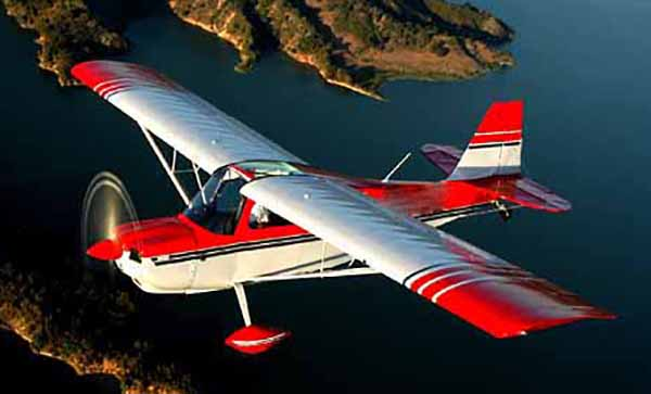Champion 7GCAA Citabria - not the accident plane