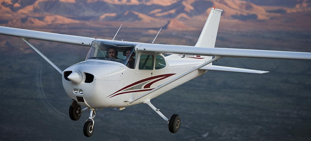 Cessna 172 - not the accident plane